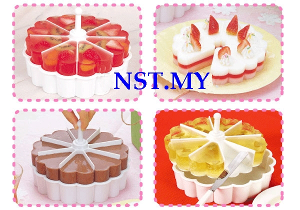 Heart Shaped Jelly/Mousse/cake/steam egg mould set