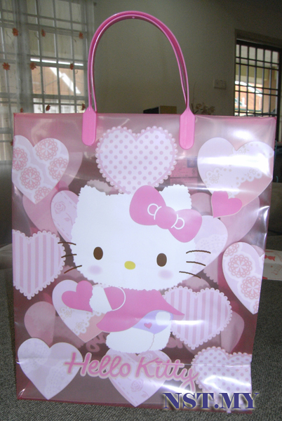 Hello Kitty Pink Shopping Bag