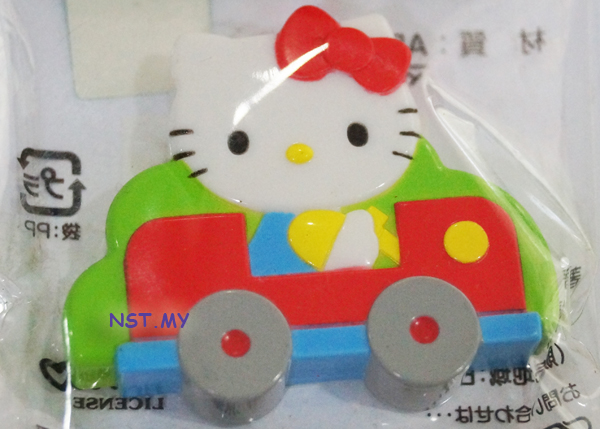 Hello Kitty n Car Magnet - Click Image to Close