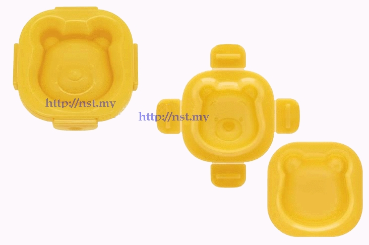 Japan Import Pooh Boiled Egg Mould/Rice Mould