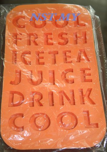 Japan Import Alphabet Ice Mould