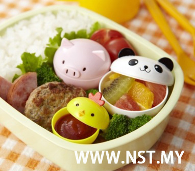 Chick Pig Panda Food Cup for Bento