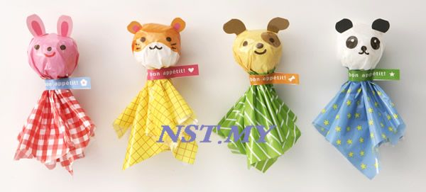 Cute Animal Rice/Dessert Wrapper