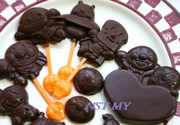 Japan made Anpanman Chocolate Mould