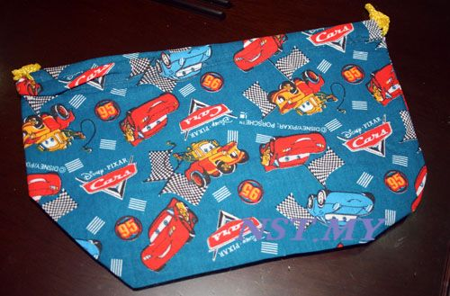 Disney Cars Bento Bag