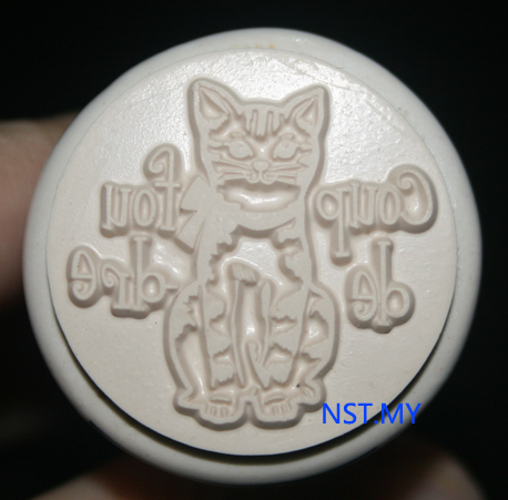 Cute Cat Shape Stamper