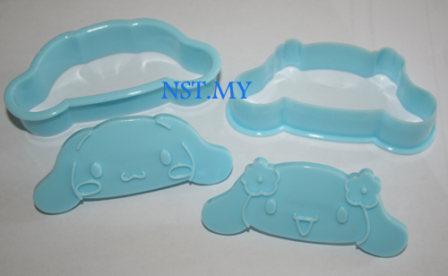 Japan Import Cinnamoroll toast/cookies mould(2 in group)