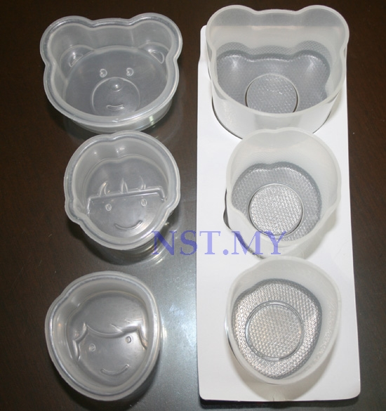Made in Japan Bear + Boy + Girl Rice Mould