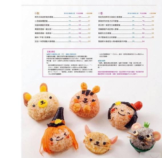 Different Happy Kids Bento - Click Image to Close