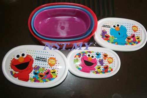 Japan Made Elmo Bento 3 in 1 Set