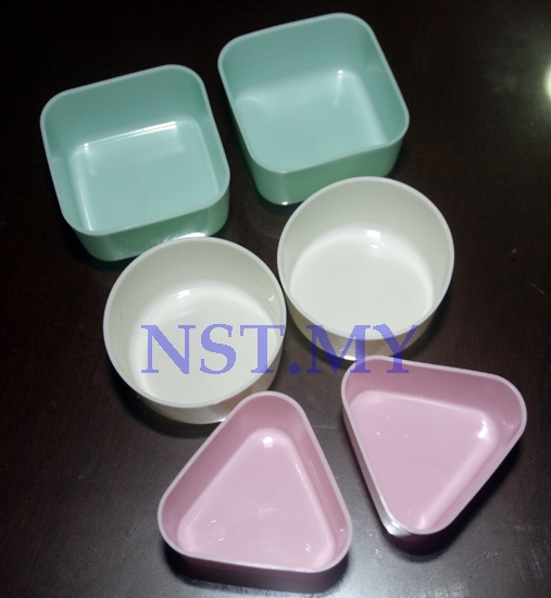 Japan Made Square + Round+Triangle Shaped Jelly/Pudding/Dish Cup