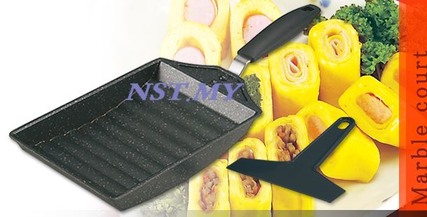 Japan Import Less Oil Easy to wash egg roll/pancake frying pan s