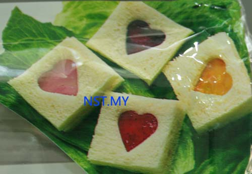 Japan Import Heart Shaped Cookies Mould/Rice Mould with case