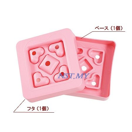 Heart shaped bread cutter
