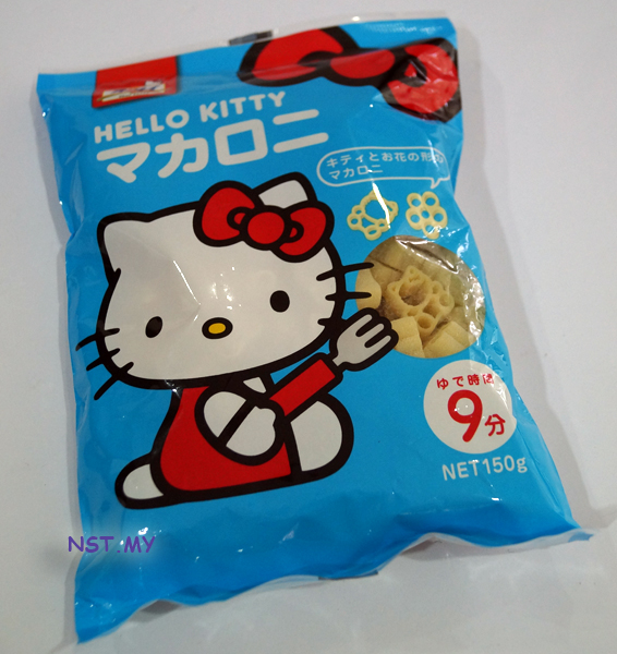 Hello Kitty pasta - Click Image to Close