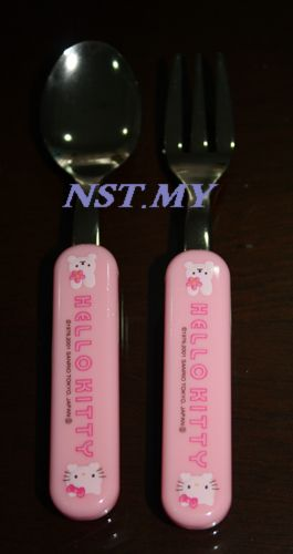 Japan Import Hello Kitty Fork & spoon Set