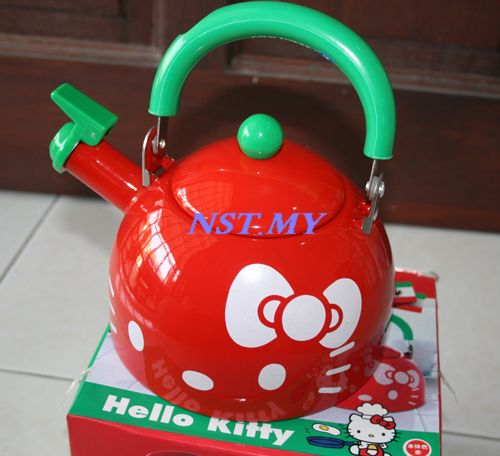 Japan Limited Edition Hello Kitty Kettle (Red Color)