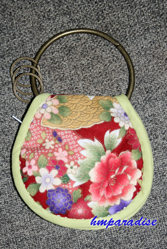 Handmade Japanese Style Key Chain + Purse Set