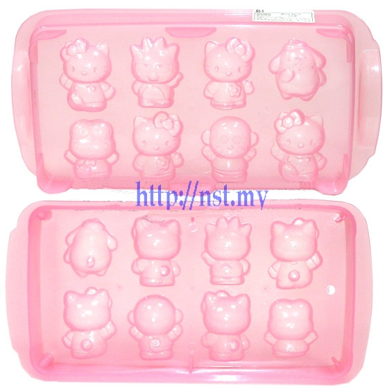 Japan Import Sanrio Ice/Chocolate/Jelly Mould