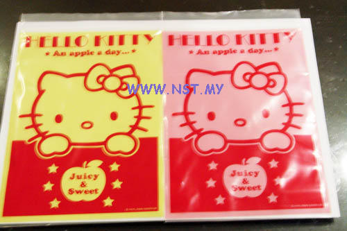 Hello Kitty Zip Bag (Large)