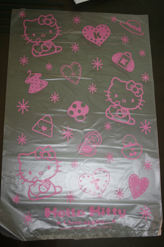 Japan Import Hello Kitty Dessert/gift Plastic bag