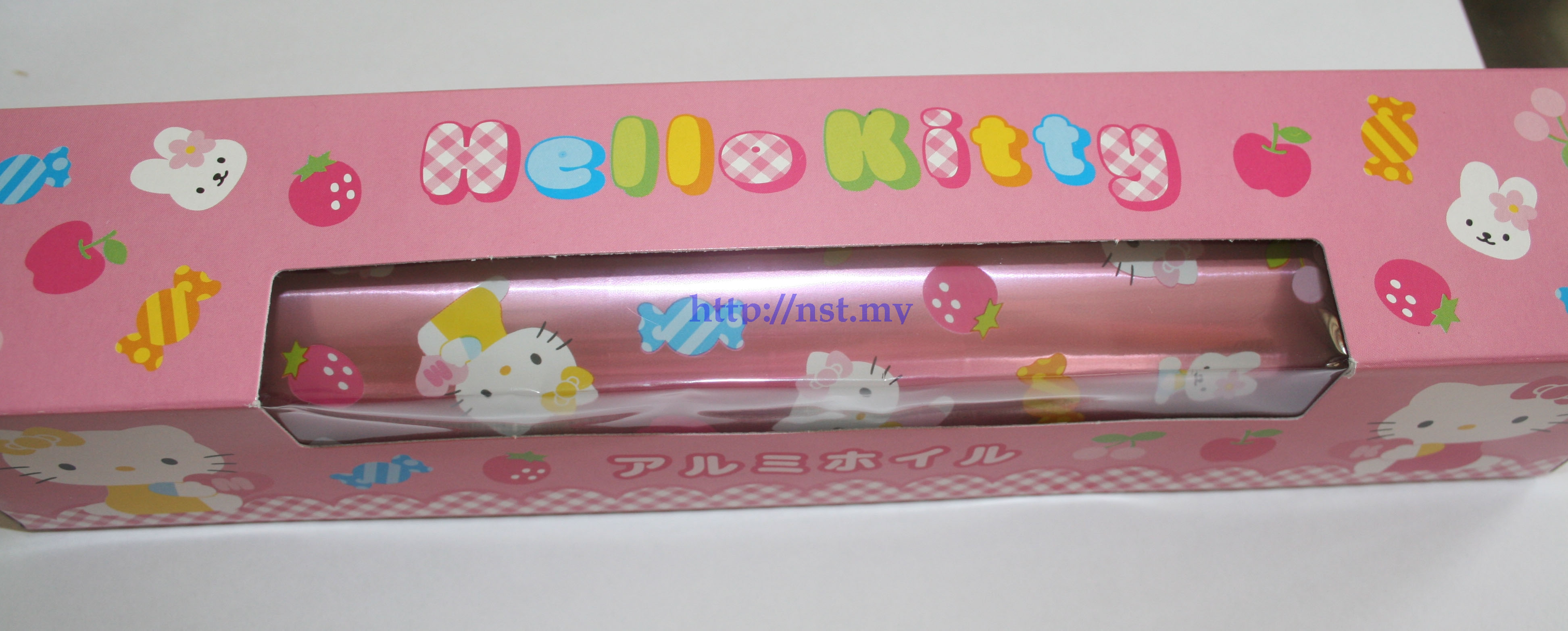 Japan Import Pink Kitty Candy/Chocholate/Aluminum Foil