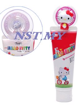 Korea Import Kitty Powerful Sucker Toothpaste Holder + Kids use