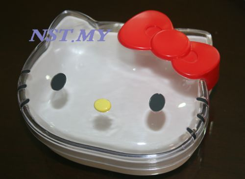 Japan Import Kitty Transparent Multipurpose Box