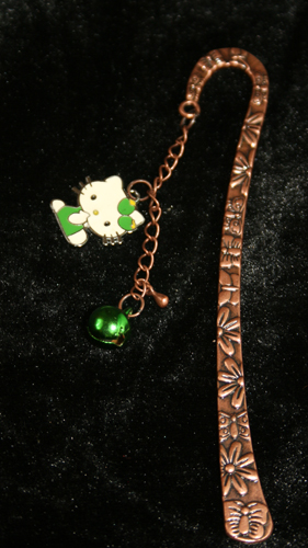 Kitty and Bell 3D Bookmark