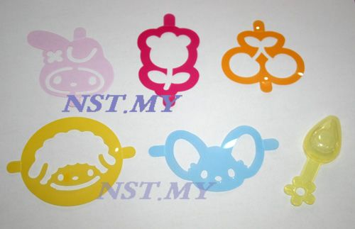 Japan Import Melody 5 in 1 stencil set