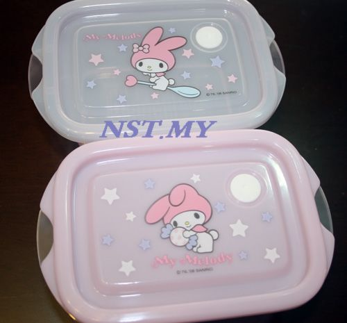 Japan Made Melody Microwavable Lunch Box(2 in set)