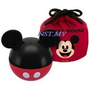 Mickey Mouse Ball Shaped Lunch Box + Bag Set