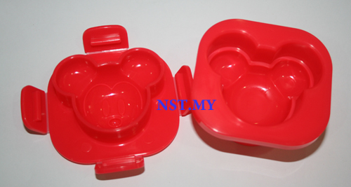 Japan Import Mickey Head Shaped Egg Mould - Click Image to Close