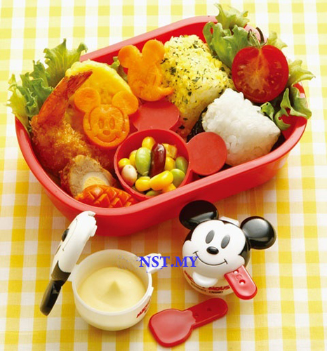 Japan Import Mickey Mouse Sauce Case (Can use as medicine case)