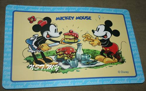Japan Import Mickey Mouse Table Mat