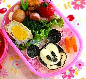 Japan Made Mickey Multipurpose Vegetable/Cheese/seaweed Mould