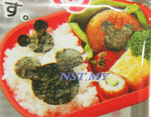 Japan Import Mickey Rice Seaweed/Cheese/Vegie/Cookies Mould