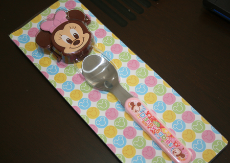 Japan Import Minnie Spoon with cover set