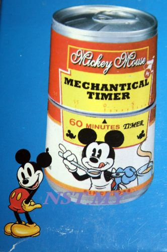 Mickey Can Shaped Kitchen Timer