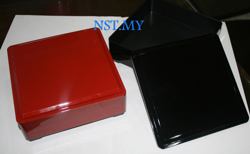 Japan Made Multipurpose Japanese Style Box(Red)