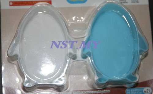 Penguin Shape silicon dish cup/jelly/pudding mould