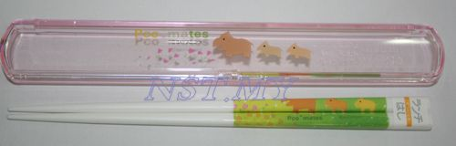 Japan Made Pigs Chopstick Box Set
