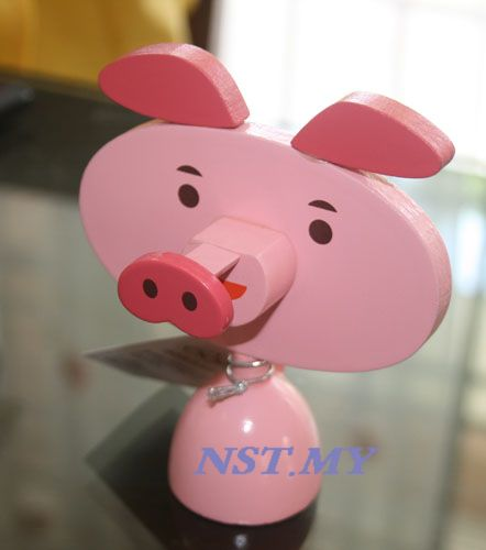 Japan Import Pig Eye Glasses Holder