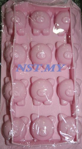 Pig shaped Chocolate/Ice Mould