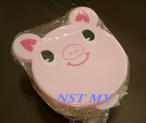 Japan Import Pink Pig Microwavable pudding/Vegetable Mini Box