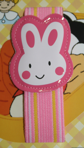 Japan Import Cute Pink Rabbit Head Bento Strap