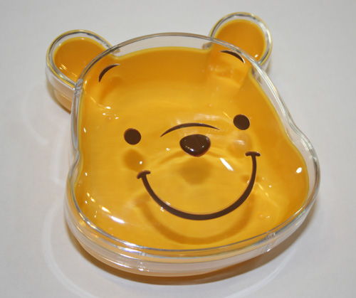 Japan Import Pooh Transparent Multipurpose Box