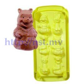 Pooh/Piglet/Tigger chocolate/ice/jelly mould