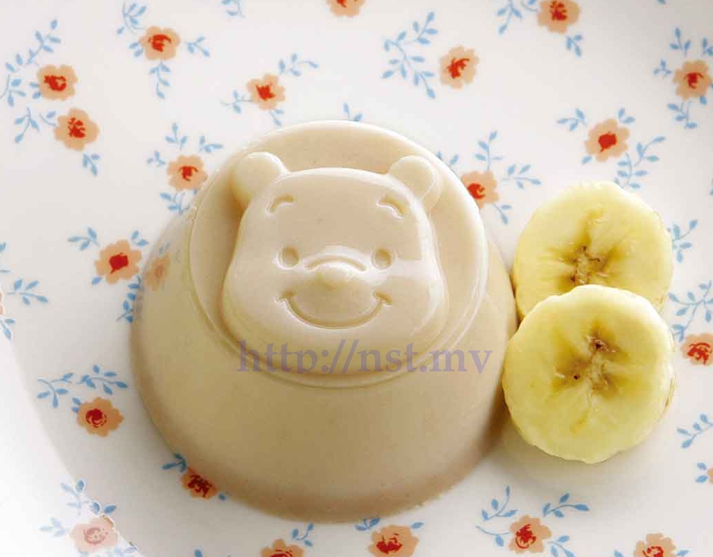 Japan Import Pooh Pudding/Steam Egg/Jelly Mould