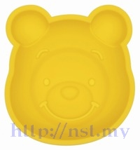 Pooh Head Shaped Pancake/egg/burger Mould + Stencil - Click Image to Close